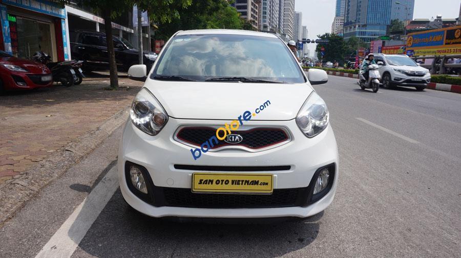 Bán Kia Morning 1.0 AT Sport năm 2011, màu trắng, xe nhập như mới