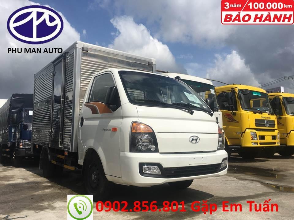 Bán Hyundai Porter năm sản xuất 2018, màu trắng, nhập khẩu nguyên chiếc, giá 454tr