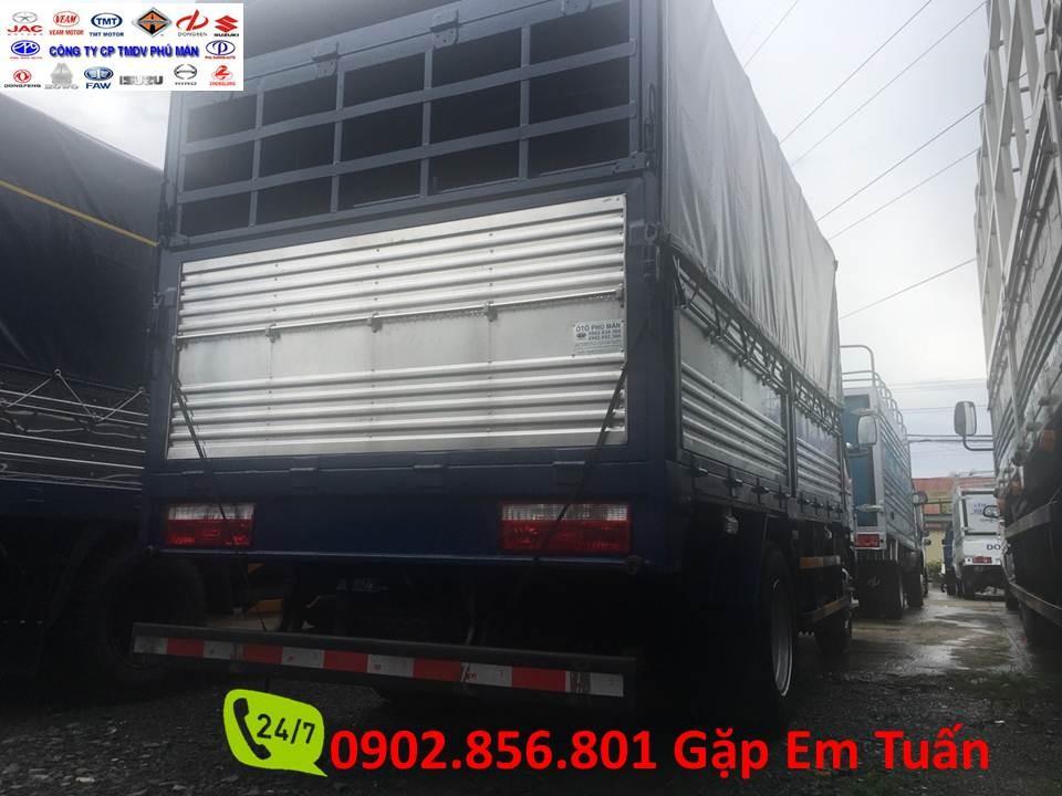 Jac 2 tấn 4 thùng bạc, chiều dài 3,7 mét, nhập khẩu