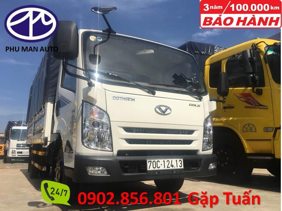 Bán xe tải trả góp Hyundai 2T4 và 3T4 thủ tục đơn giản nhanh chóng