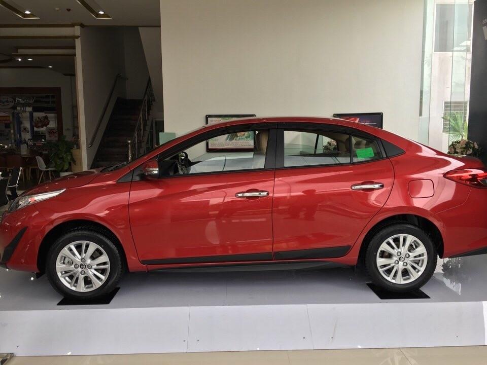 Toyota Vios 1.5G/1.5E khuyến mại 02 năm bảo hiểm vật chất, giao xe ngay, hỗ trợ vay tới 85%