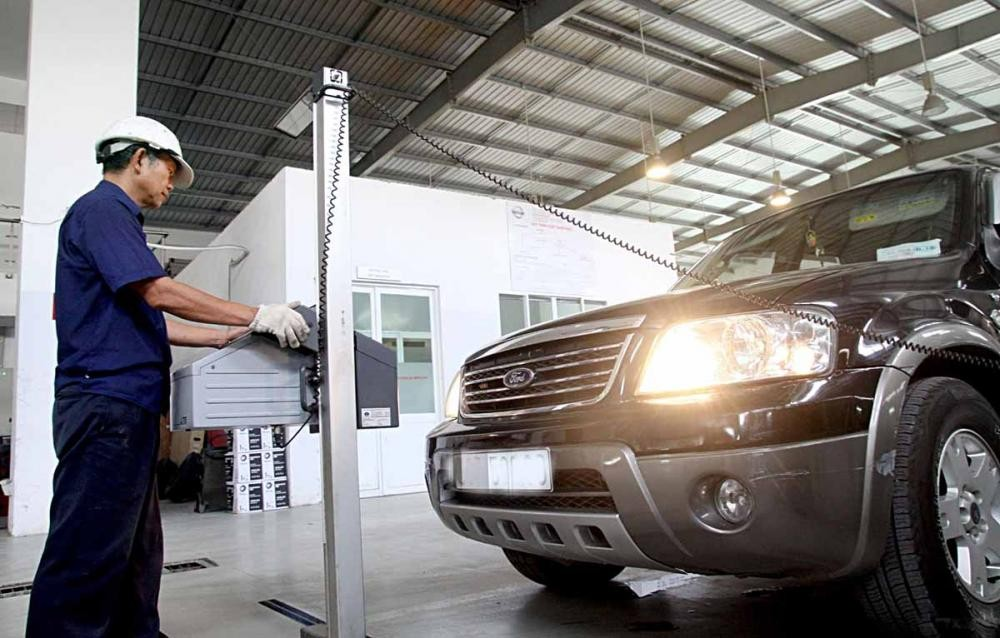 Kiểm định xe ô tô đạt chuẩn khí thải mức 2 2