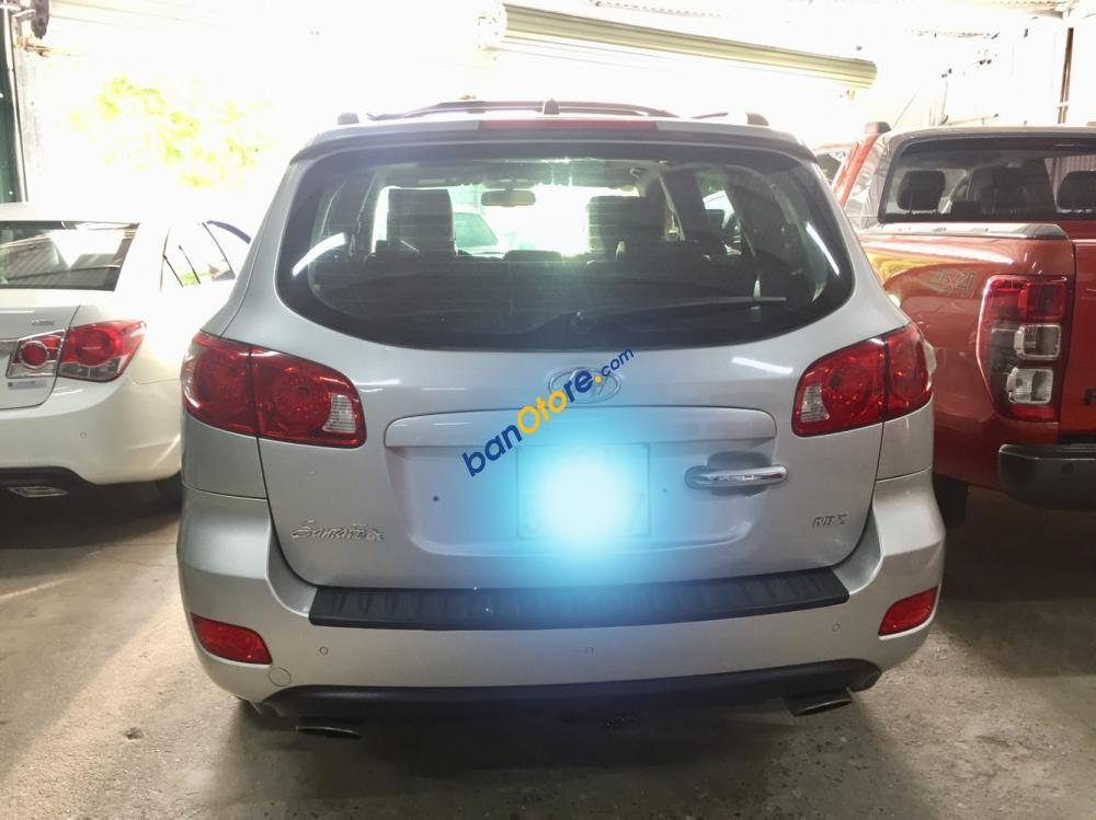 Bán ô tô Hyundai Santa Fe sản xuất cuối 2007, màu bạc, giá chỉ 515 triệu, xe nhập khẩu rất đẹp