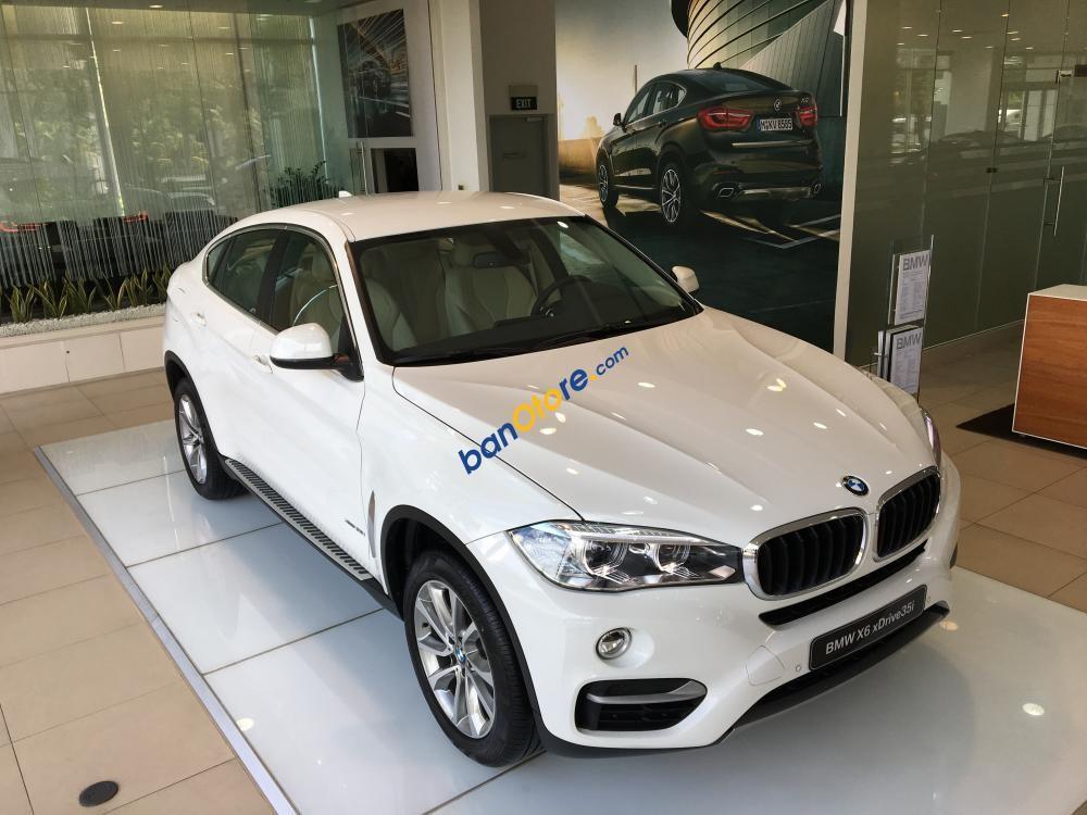 Bán xe BMW X6 xDrive35i màu trắng nhập khẩu Đức, chỉ trả trước 650 triệu - 090.999.6626