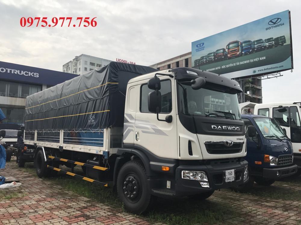Bán Daewoo Prima tải trọng 9 tấn, thùng dài 7.4m, giá ưu đãi