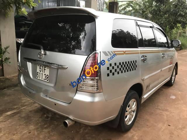 Cần bán lại xe Toyota Innova sản xuất năm 2008, màu bạc