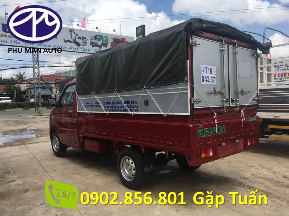 Bán xe tải Kenbo 990kg thùng bạt, thùng dài 2 mét 6