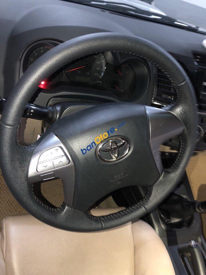 Bán Toyota Fortuner TRD 2.7V (4x4) sản xuất năm 2016, màu bạc, giá tốt