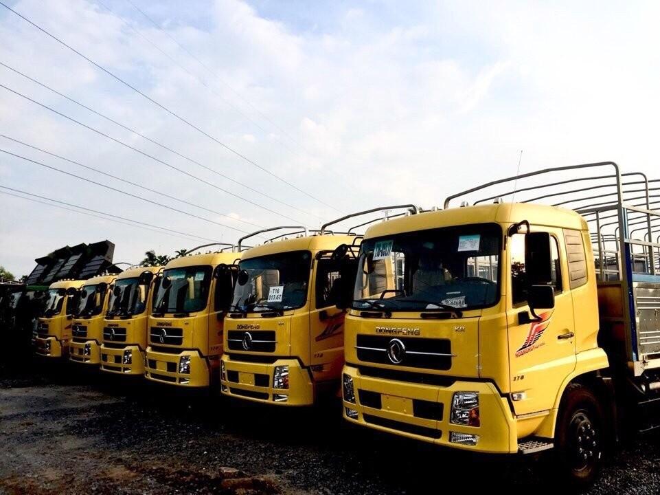 Bán ô tô xe tải 1 tấn - dưới 1,5 tấn sản xuất 2017, màu vàng, nhập khẩu nguyên chiếc