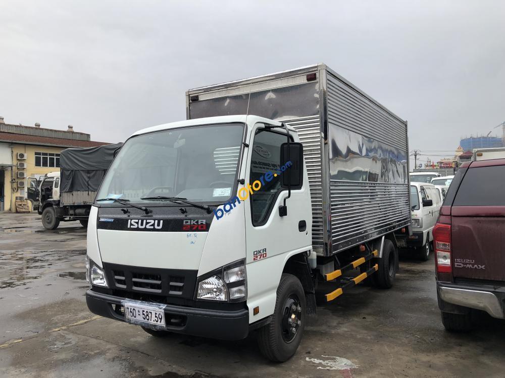 Isuzu Hà Nội bán xe tải Isuzu 1,9 tấn 2,8 tấn thùng kín, thùng bạt giá cả cạnh tranh - Liên hệ: 0968.089.522