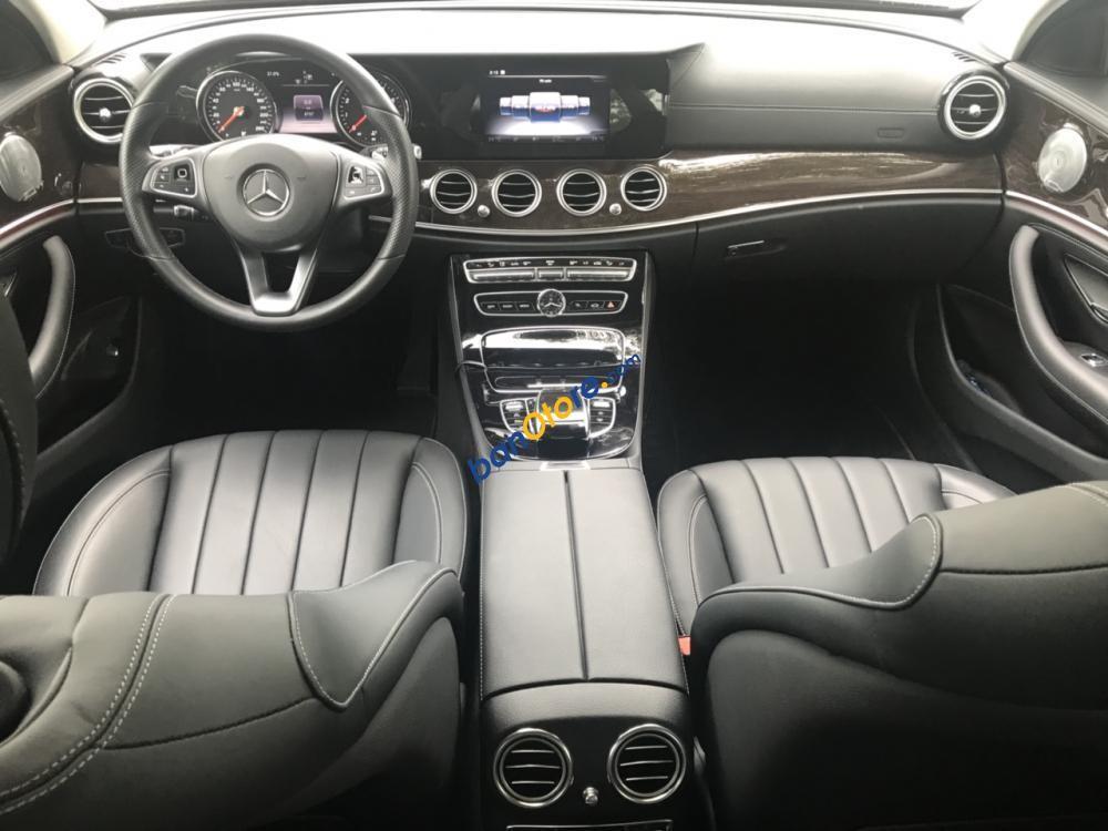Bán Mercedes-Benz E250 xanh 2017, cũ chính hãng tốt nhất, giao ngay