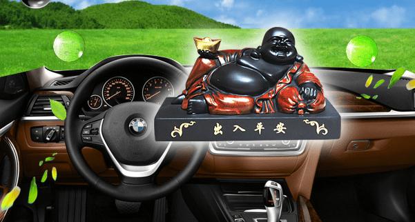 Những lưu ý khi đặt tượng phật phong thủy trong xe ô tô a3