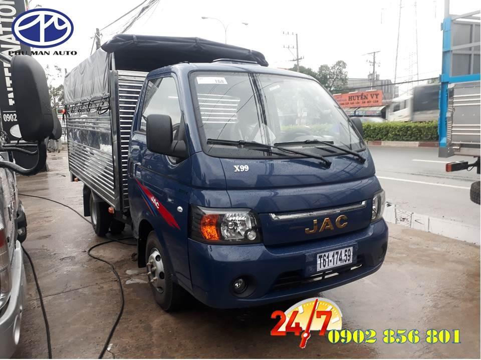 Bán xe tải Jac công nghệ Hàn Quốc có tải trọng 990kg – 1250kg – 1490kg, 2018 Euro 4