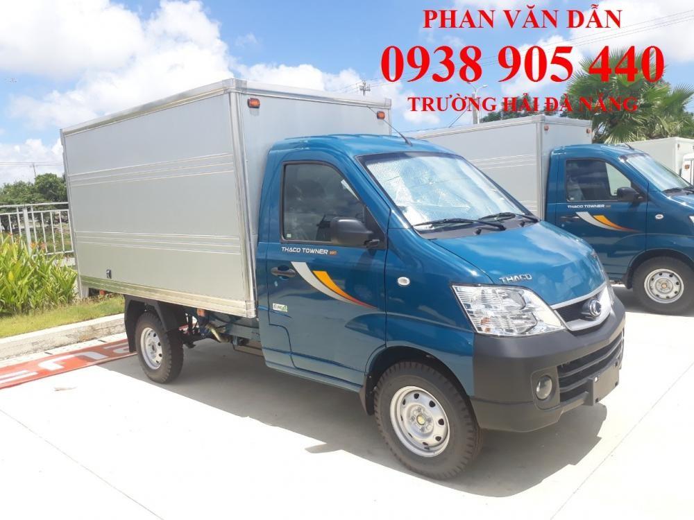 Xe tải Thaco Towner990 đời mới 2020 có máy lạnh. Có bán trả góp