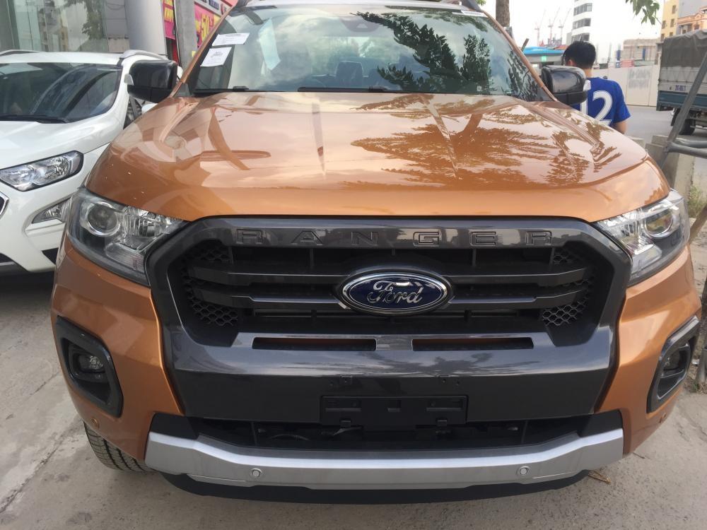 Giá xe Ford Ranger Wildtrak 2.0 Biturbo số tự động 10 cấp, 213 mã lực, giao xe ngay hỗ trợ trả góp