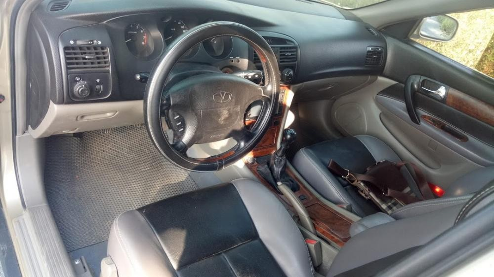 Bán Daewoo Mugnus số sàn đời 2004, máy 2.0 xe sang giá rẻ 138 triệu có giảm