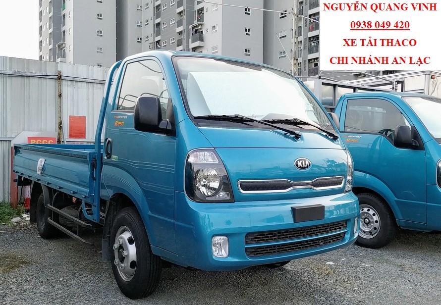 Xe tải Kia K250 Euro 4 - động cơ Hyundai - tải trọng 2,4 tấn - thay thế K3000S và K165