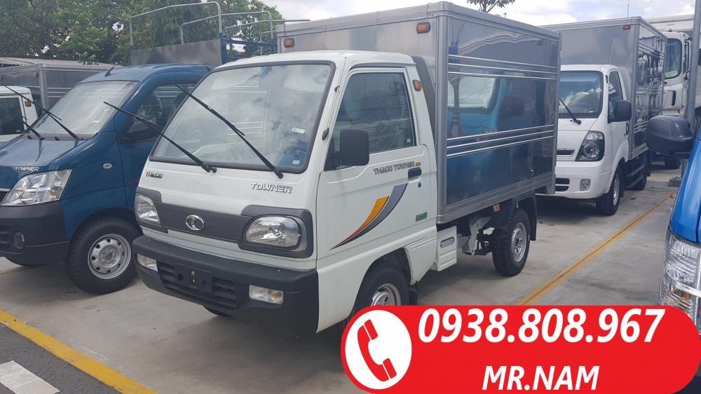 Bán xe tải Thaco Towner 800 tải trọng 900kg, 1 tấn sản xuất năm 2018. Hỗ trợ vay ngân hàng, LH 0938808967