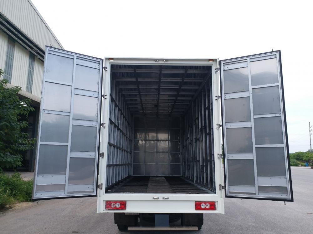 Cần bán xe Thaco OLLIN ollin 700C thùng cao 2,5 m, mở hết cửa hông 2017, màu trắng, giá chỉ 510 triệu