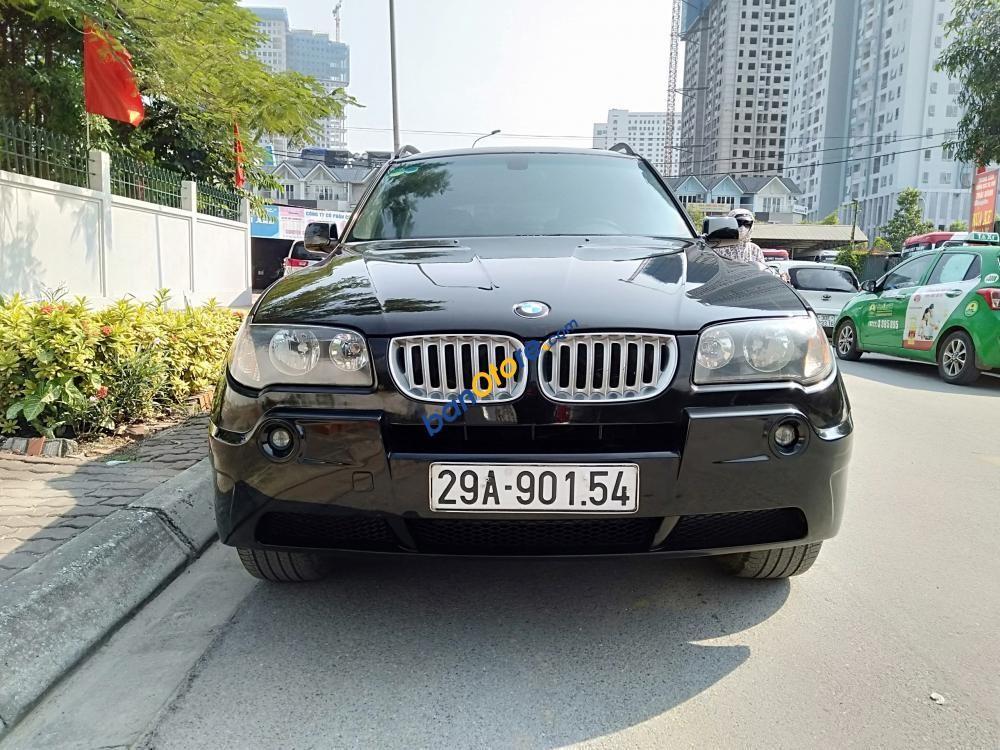 Cần bán xe BMW X3 2.5i đời 2004, màu đen, nhập khẩu