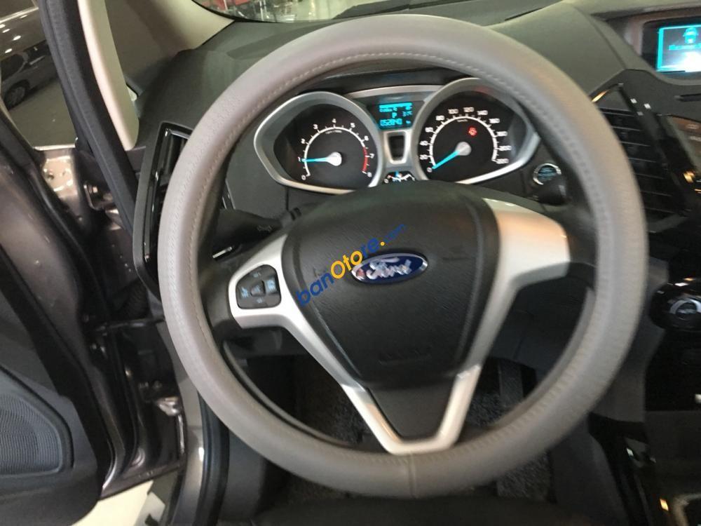 Cần bán Ford EcoSport Titanium 1.5AT sản xuất năm 2016, màu xám, 565tr