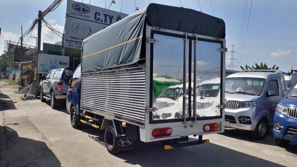 Xe tải Hyundai H150 New porter 1,5 tấn thùng bạt