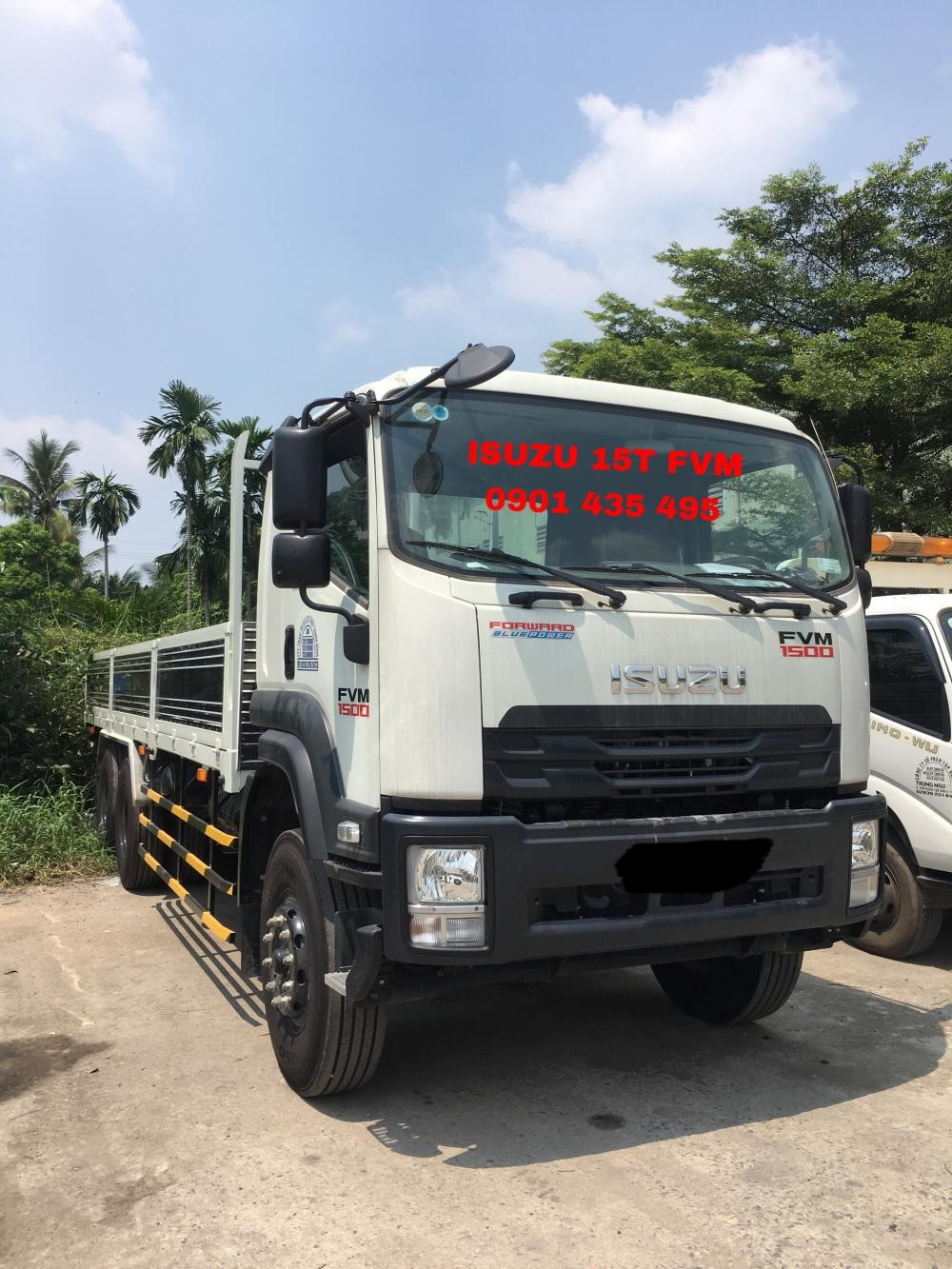 Bán Isuzu 15T (FVM34W), KM thuế trước bạ, 400L dầu, 2 vỏ xe