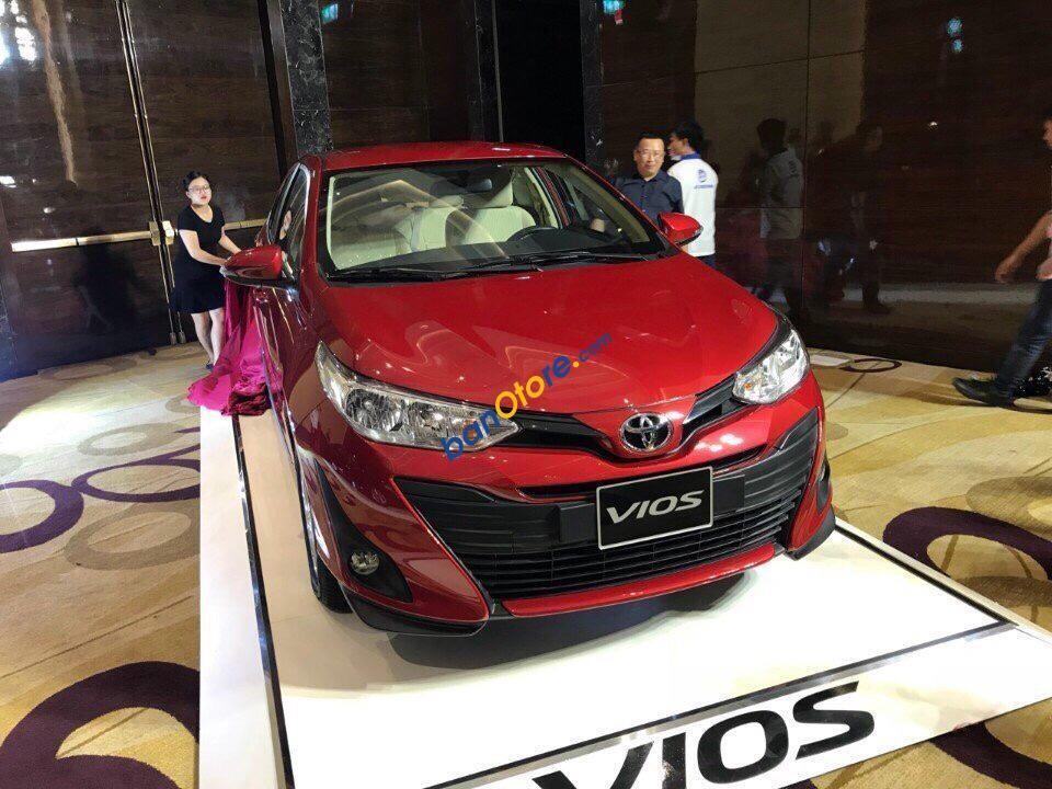 """Toyota Tân Cảng-Vios 1.5 CVT- """"Duy nhất trong tuần giảm tiền mặt & bảo hiểm kèm nhiều quà tặng""""-0933000600"""