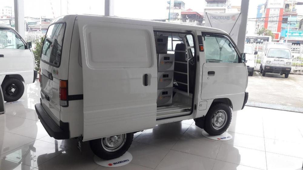 Suzuki Blind Van khuyến mại 100% thuế TB & hỗ trợ giá sâu