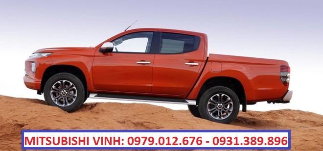 Gía xe bán tải tốt nhất tại Vinh, Nghệ An - Mitsubishi Triton 2021, màu trắng, nhập khẩu