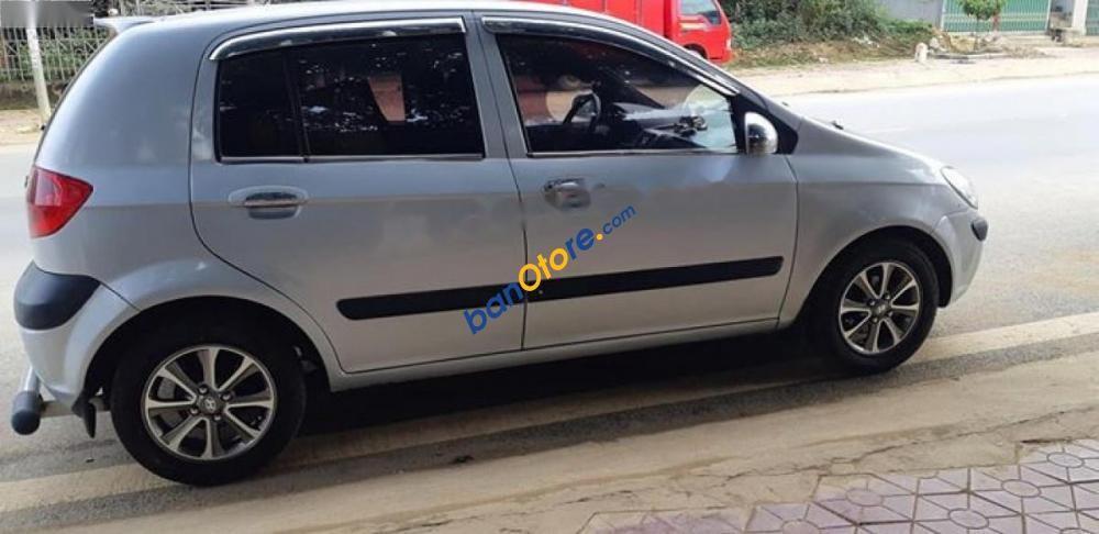 Bán Hyundai Getz màu bạc, đời 2009, xe nhập khẩu, đăng ký tên tư nhân