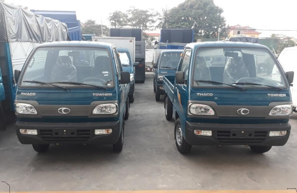 Bán xe tải Thaco Towner 800 tải trọng 900kg giá rẻ, hỗ trợ trả góp tại Hải Phòng