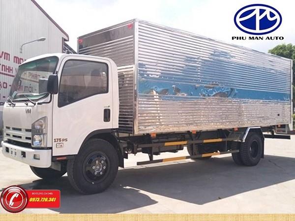 Bán xe tải Isuzu 8 tấn VM thùng dài 7m