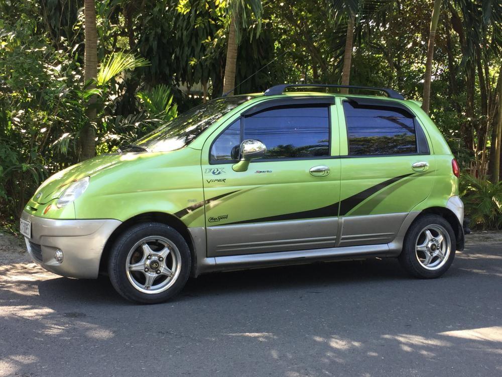 Bán xe Daewoo Matiz năm 2007, màu xanh lục số tự động, 145tr