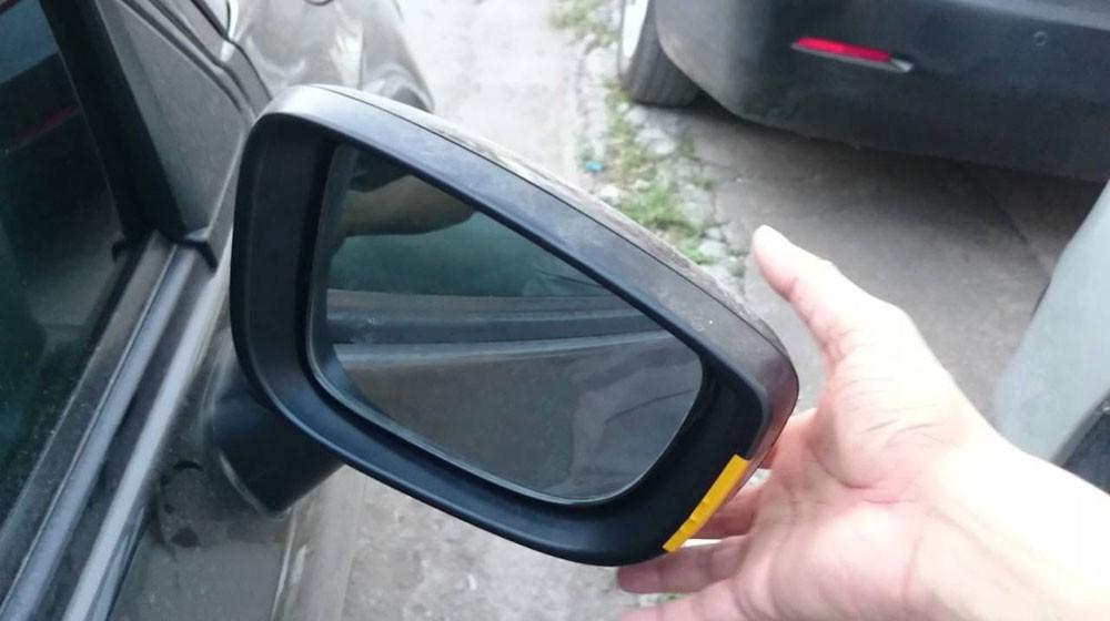 Cách chống trộm gương chiếu hậu