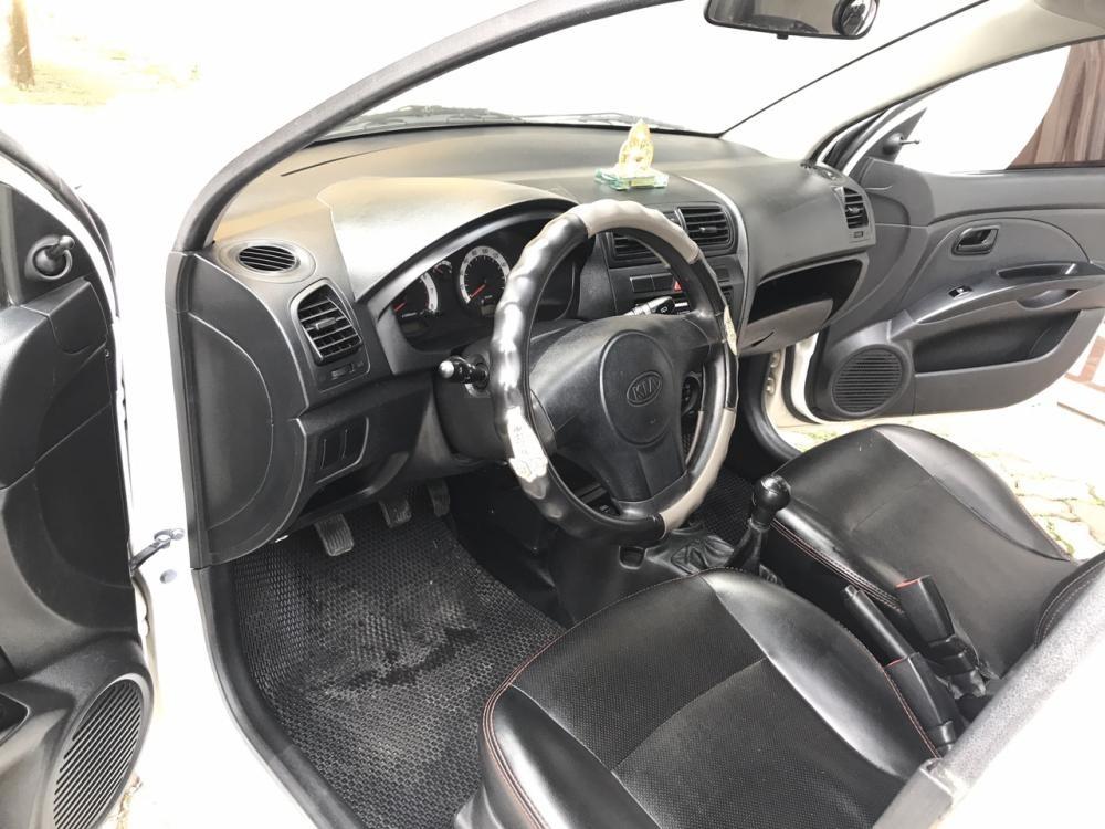 Cần bán xe Kia Morning SX 1.1 MT Sport 2012, màu trắng