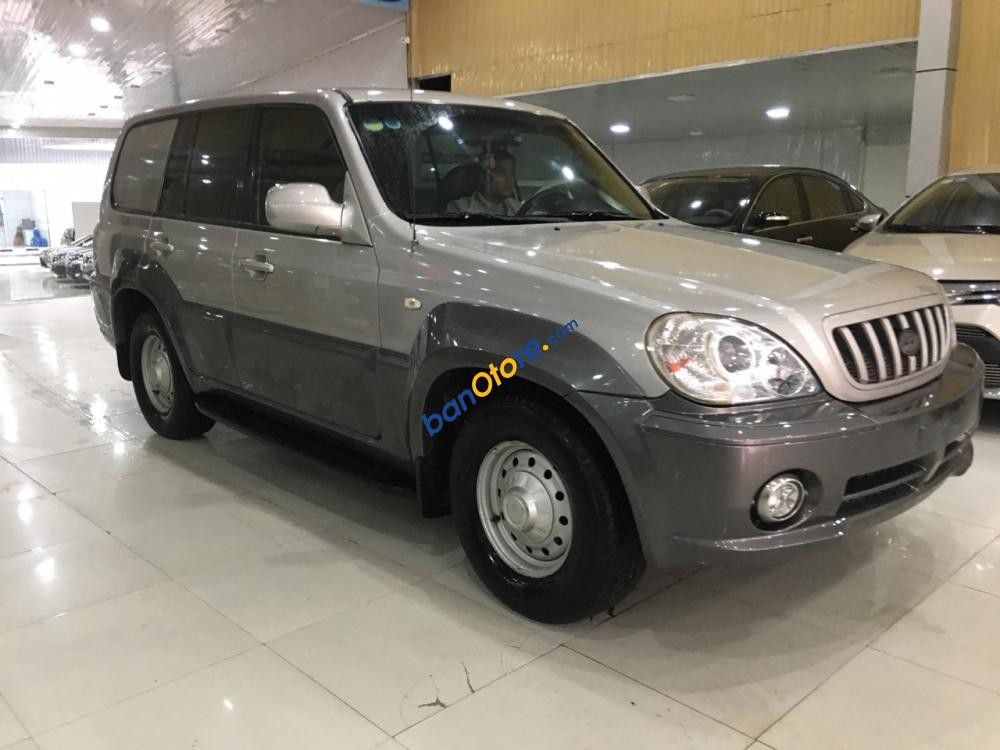 Bán Hyundai Terracan sản xuất 2003, màu bạc, nhập khẩu Hàn Quốc, giá chỉ 265 triệu