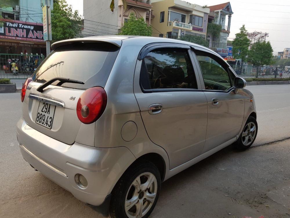 Bán Daewoo Matiz nhập khẩu đời 2007 đăng kí 2011, máy gầm chất, keo chỉ zin