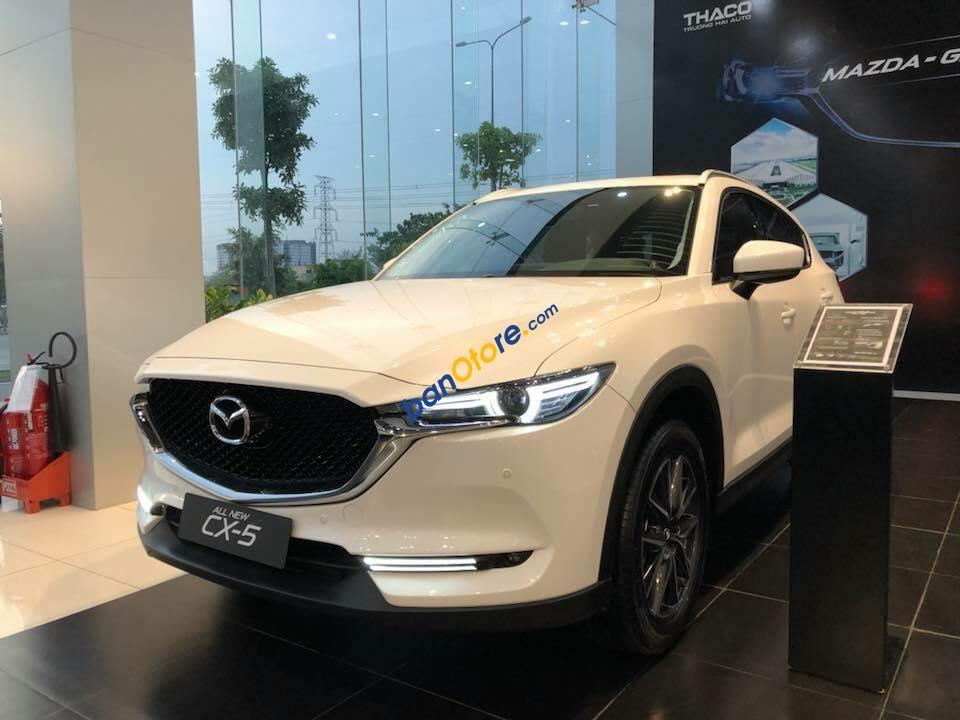 Cần bán xe Mazda CX 5 2.0 sản xuất 2019, màu trắng, giá chỉ 872 triệu