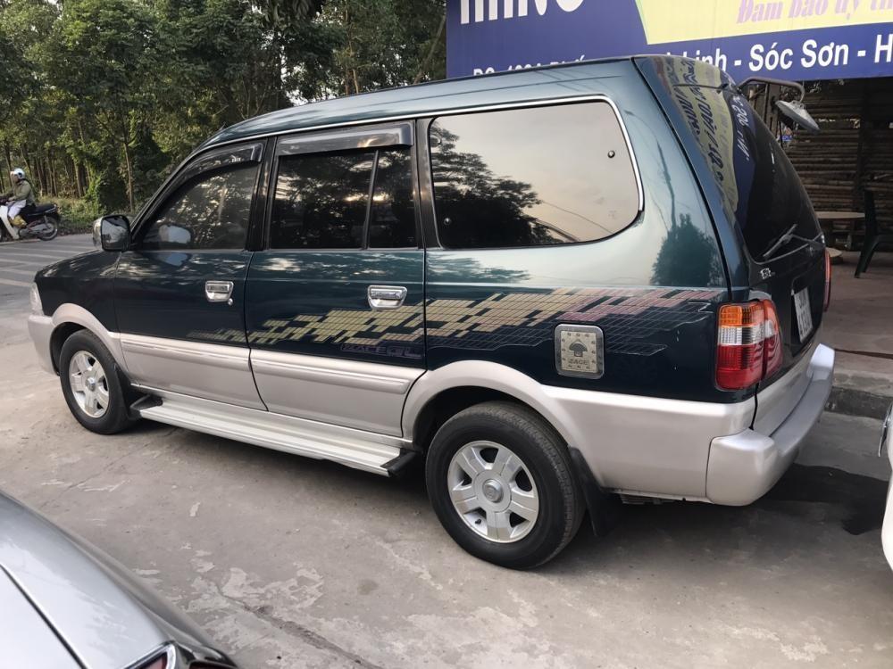 Cần bán gấp Toyota Zace GL 2005, màu xanh lục