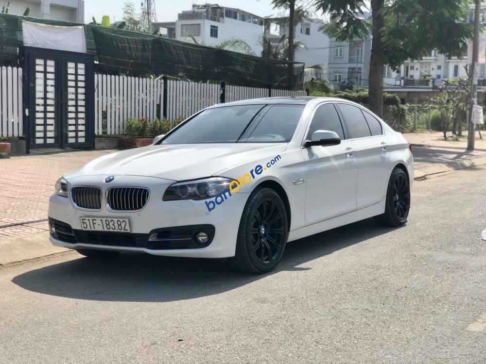 Bán BMW 5 Series 520i sản xuất 2014, màu trắng, nhập khẩu