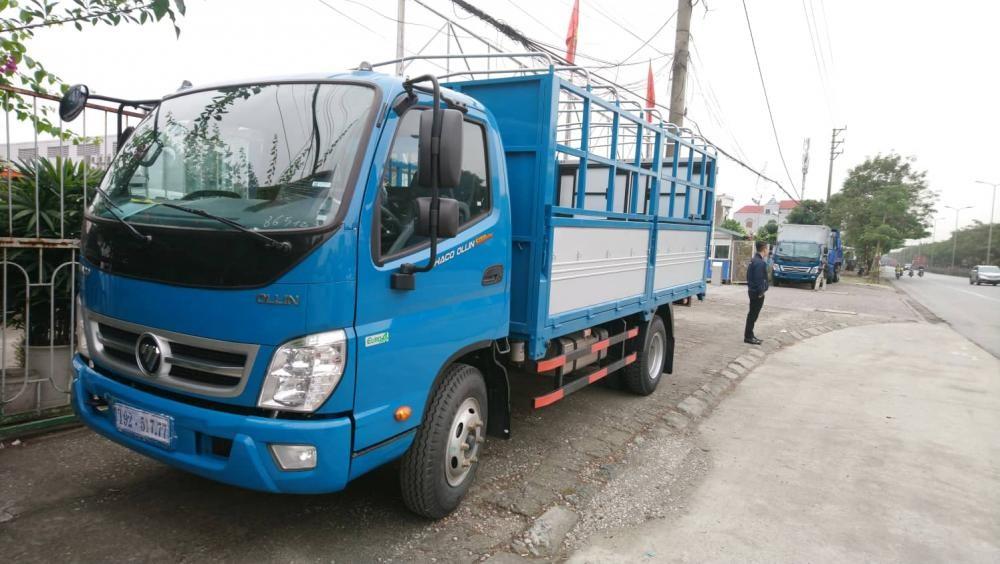 Ô tô tải Trường Hải 5 tấn thùng bạt, hỗ trợ trả góp