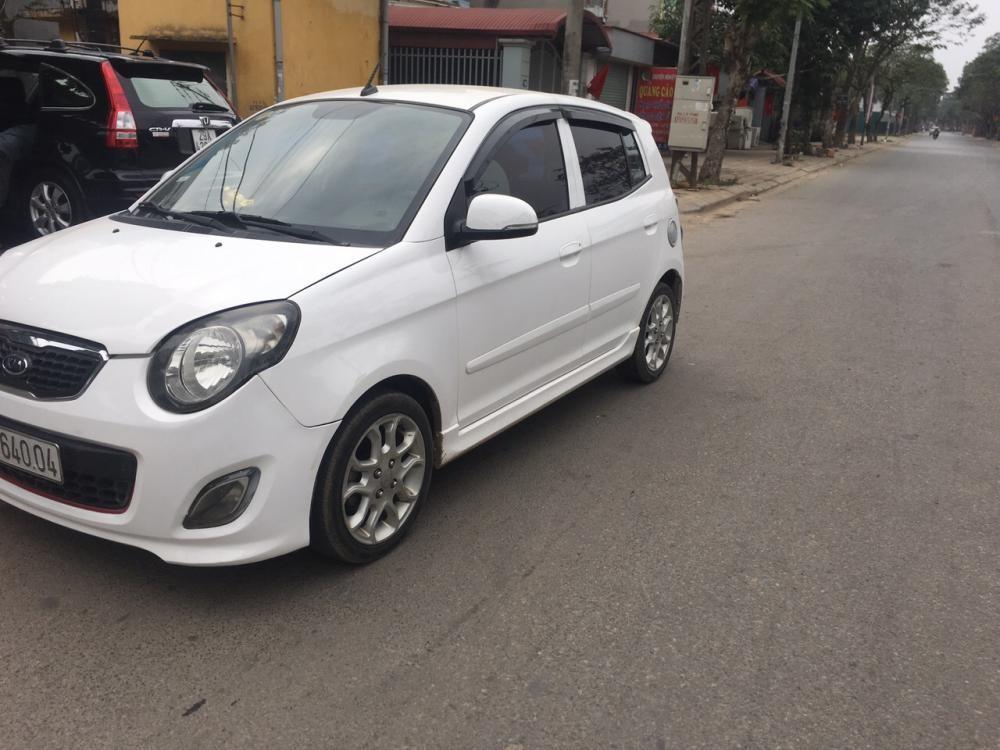 Cần bán lại xe Kia Morning Sport 2012, màu trắng biển Hà Nội chính chủ