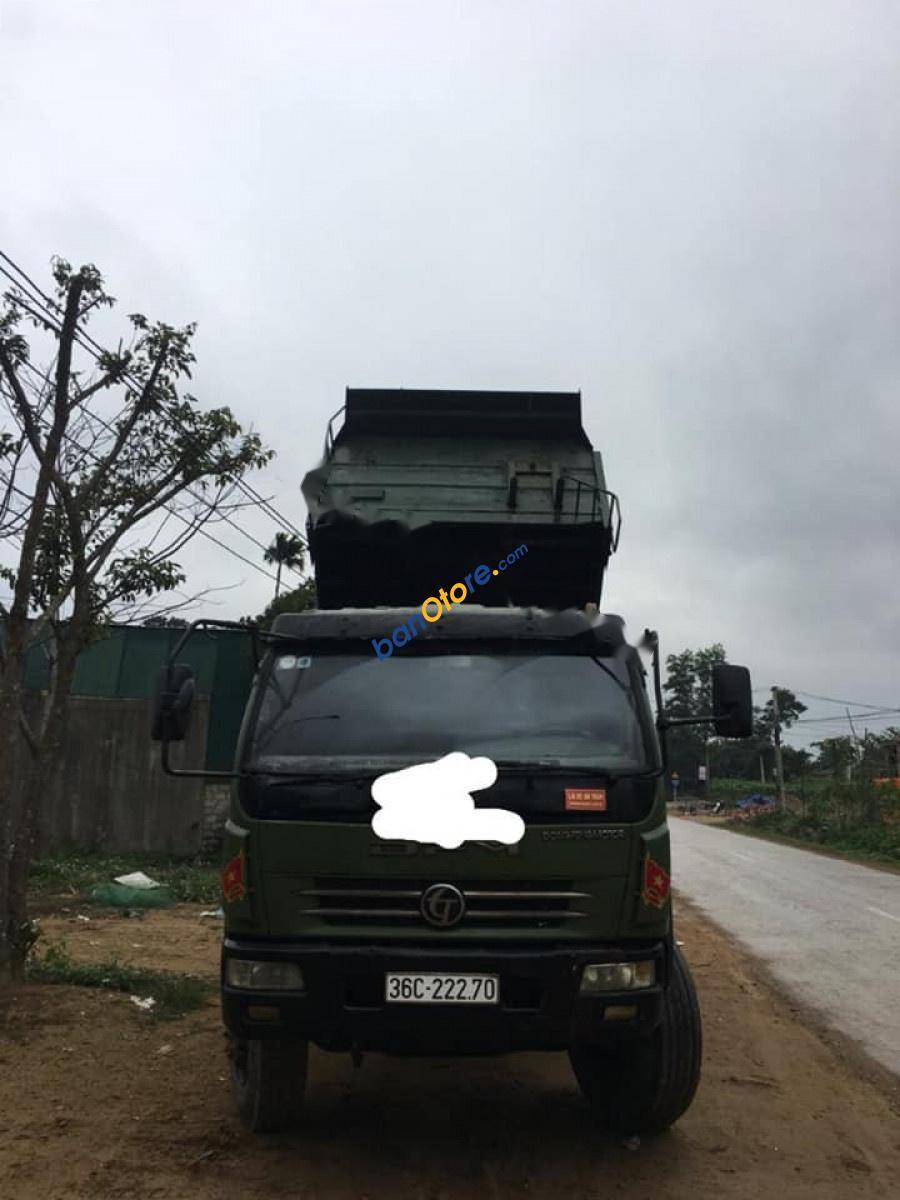 Bán xe tải Trường Giang 7 tấn SX 2011, màu xanh, gầm bệ đẹp