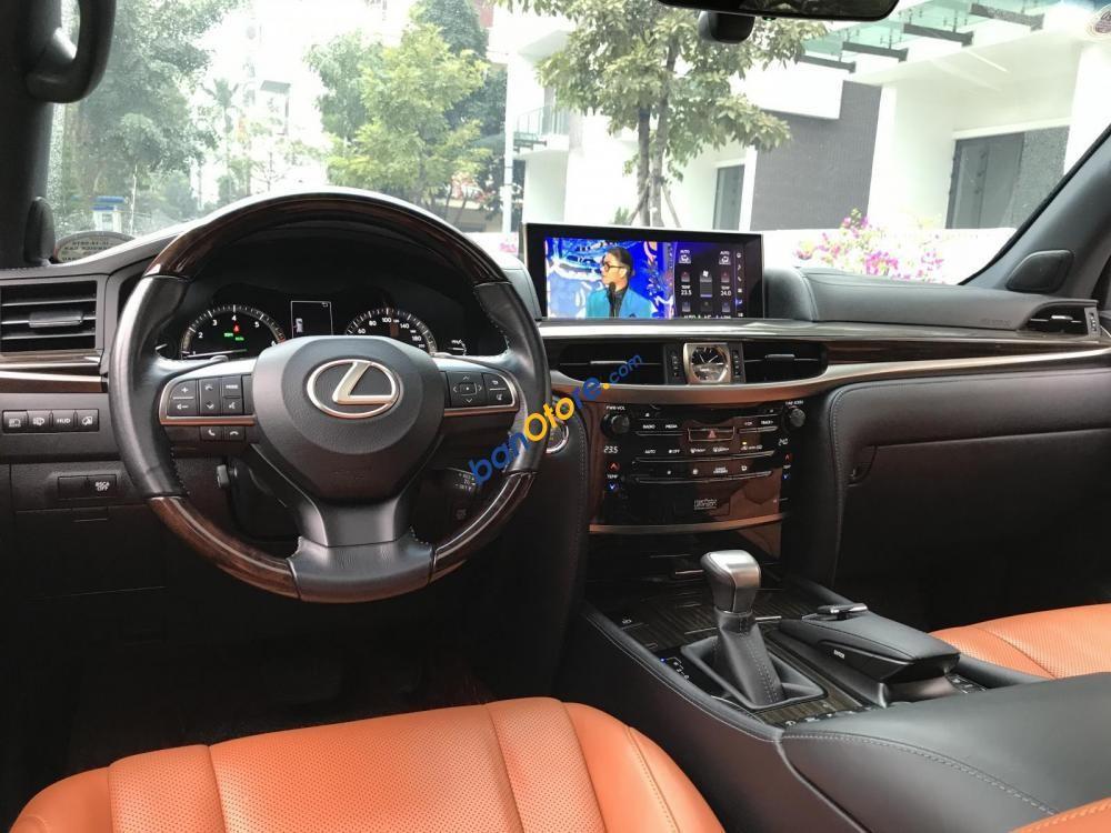 Cần bán gấp Lexus LX 570 năm 2015, màu đen, nhập khẩu nguyên chiếc