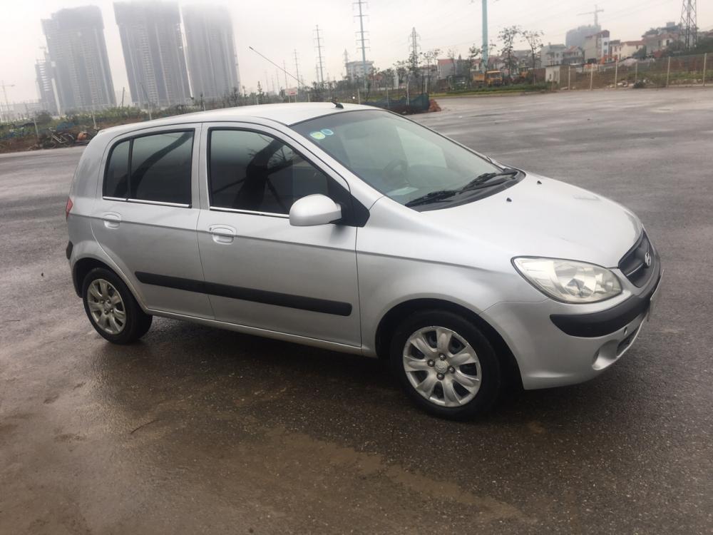 Cần bán gấp Hyundai Getz MT 1.1 2009, màu bạc, nhập khẩu nguyên chiếc