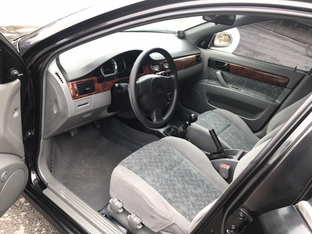 Cần bán lại xe Daewoo Lacetti EX 2009, màu đen giá cạnh tranh