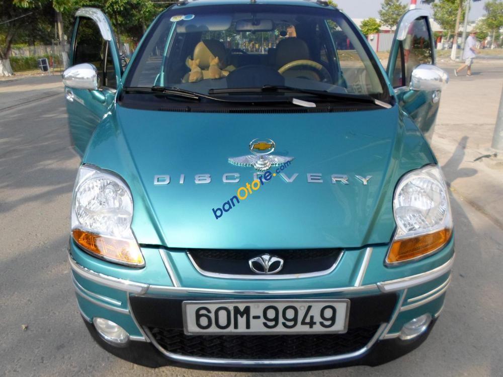 Cần bán gấp Daewoo Matiz Super-AT sản xuất 2007, màu xanh lam, xe nhập chính chủ