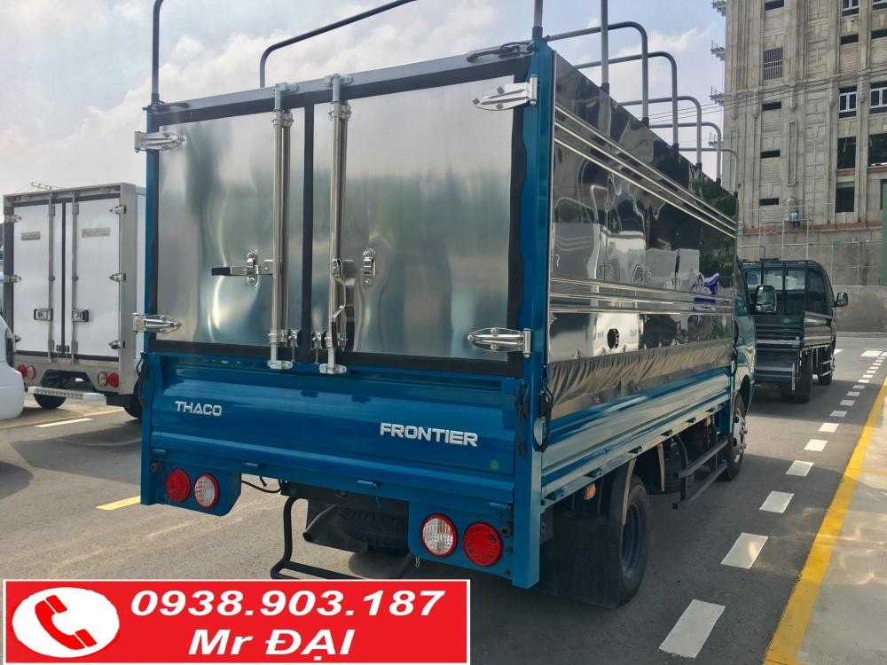 Bán xe tải Kia Frontier K250 tải 2,4 tấn hỗ trợ trả góp nhận xe ngay
