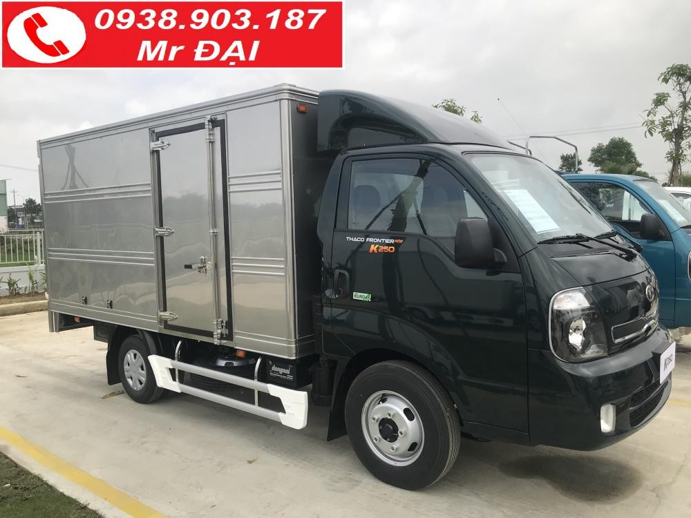 Giá xe tải Kia K250 tải 2T4 nhận xe ngay vay trả góp ngân hàng 75%